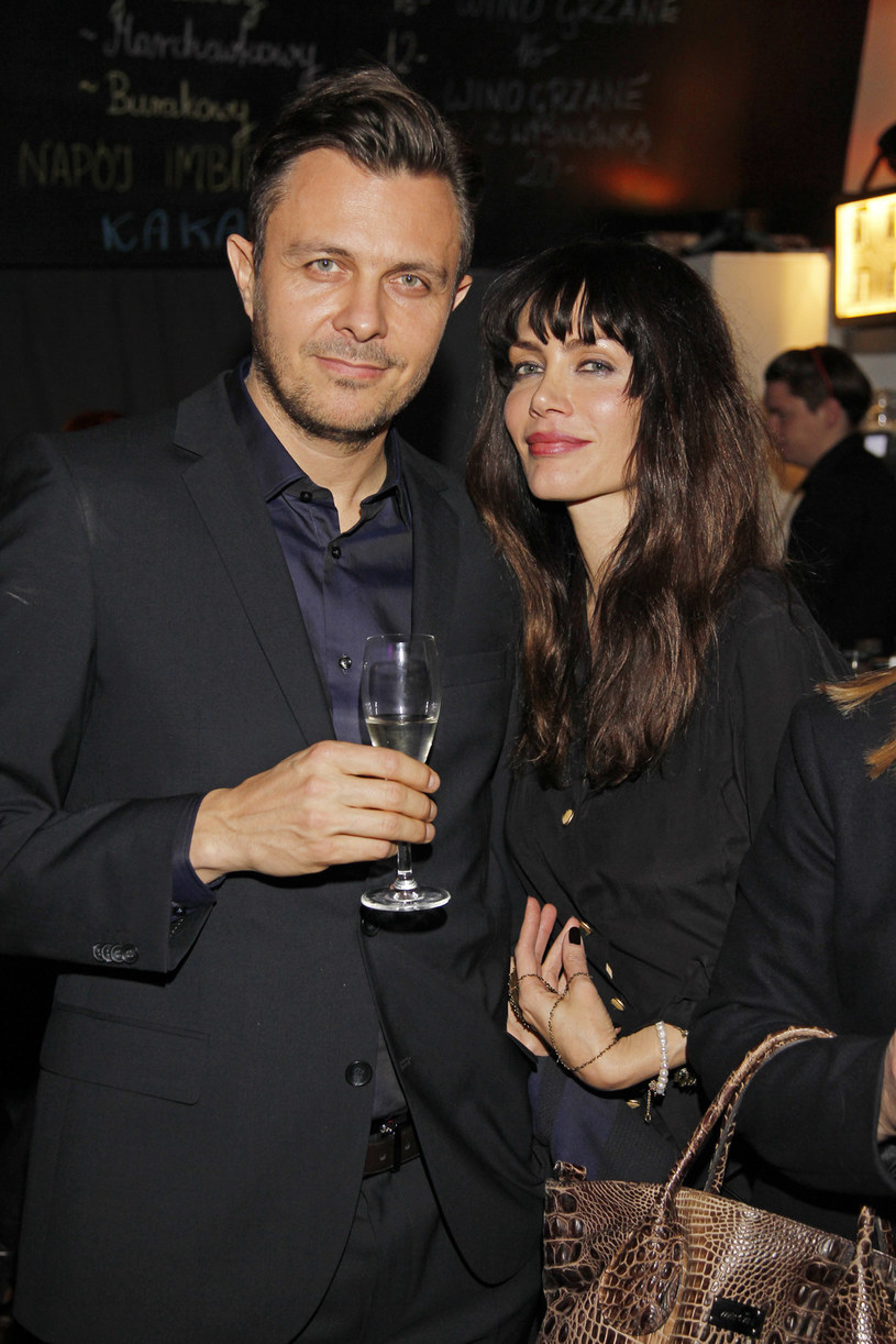 Marek Bukowski z żoną Ewą Bukowską /AKPA