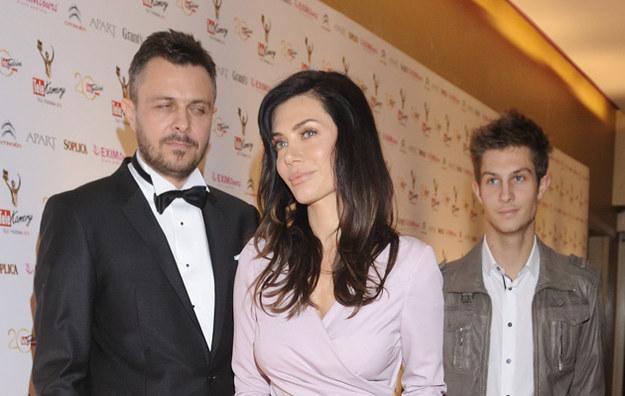 Marek i Ewa Bukowscy z synem Marcinem /Jarosław Antoniak /MWMedia