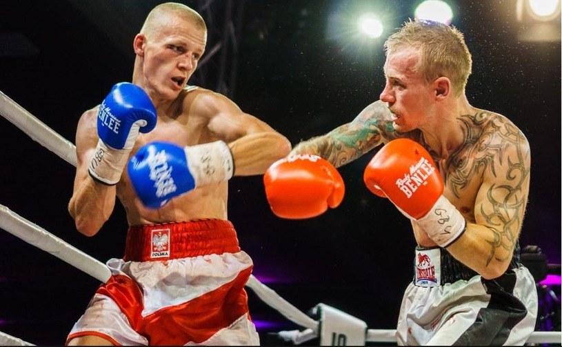 Marek Jędrzejewski (z lewej) /Facebook/Marek Jedrzejewski Boxer Official /