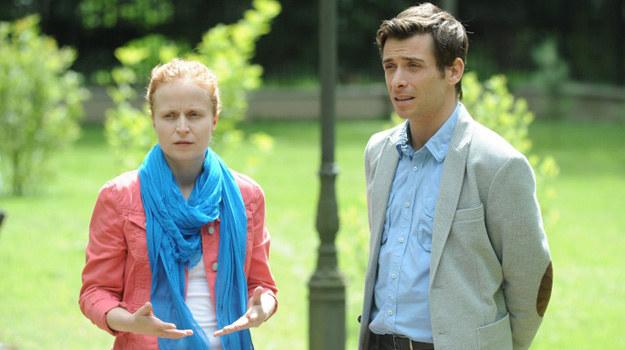 Marek (Kacper Kuszewski) i Ewa (Dominika Kluźniak) /Agencja W. Impact