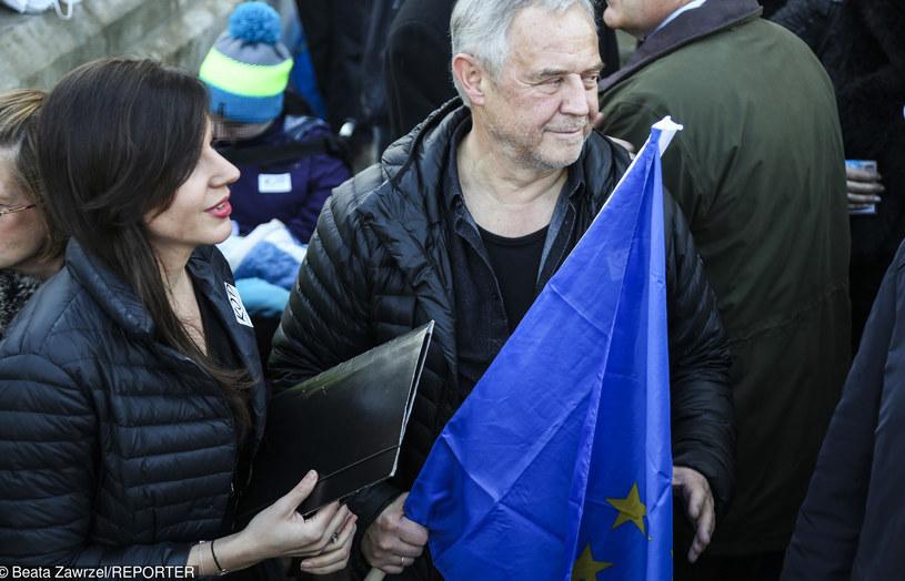Marek Kondrat z żoną Antoniną /Beata Zawrzel /East News