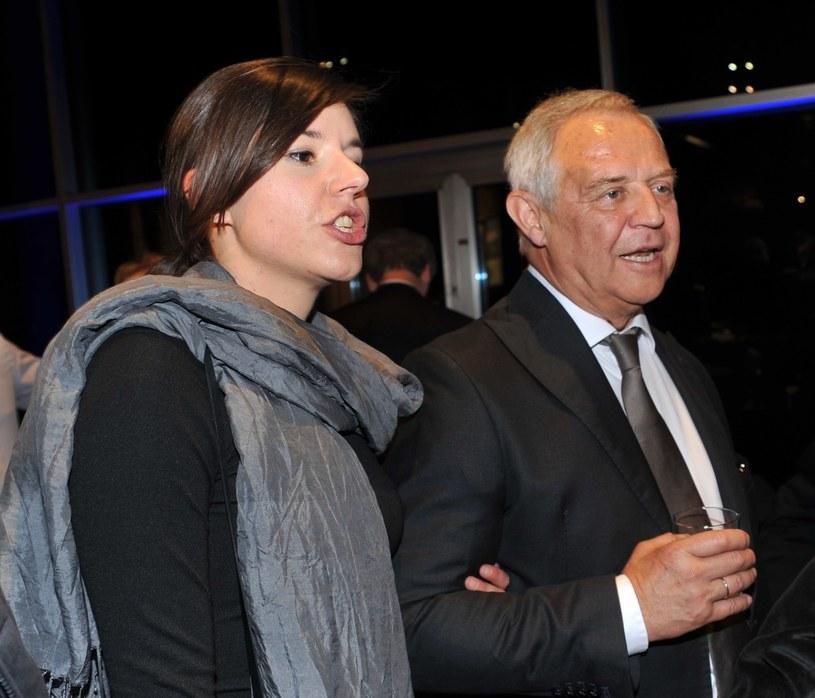 Marek Kondrat z żoną Antoniną /M.Lasyk /East News