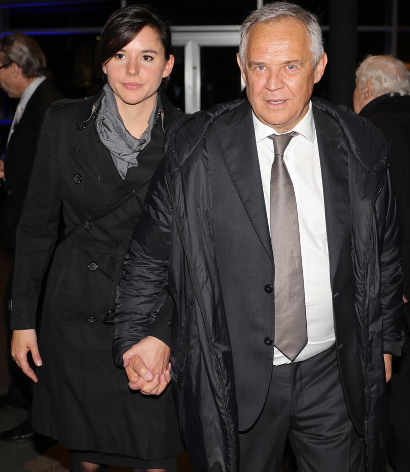 Marek Kondrat z żoną Antoniną /Jakub Pokrzycki /East News