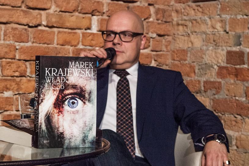 Marek Krajewski podczas spotkania zorganizowanego przez Styl.pl i wydawnictwo Znak, fot. archiwum J.A. Baczewski /materiały prasowe