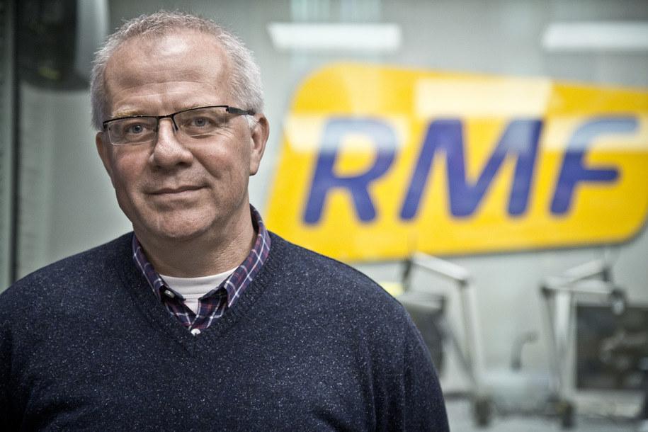 Marek Mikos w studio RMF FM /Bartosz Niedźwiecki /Archiwum RMF FM