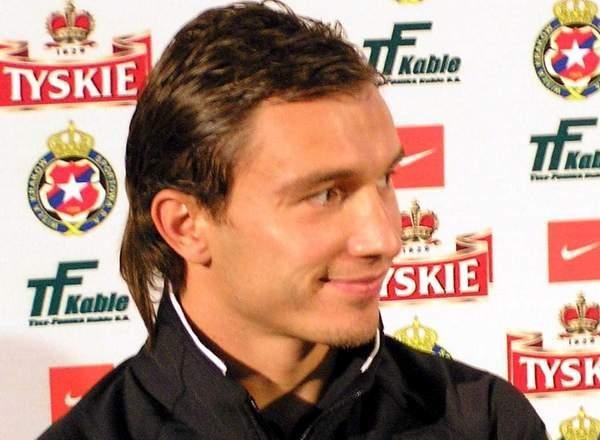 Marek Saganowski jest dobrej myśli /INTERIA.PL