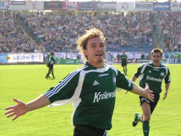Marek Saganowski zdobył zwycięską bramkę dla Legii w meczu sparingowym z Bayerem Leverkusen /legia.net