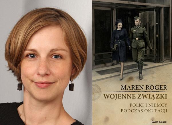 """Maren Roger, autorka książki """"Wojenne Związki"""" /materiały prasowe"""