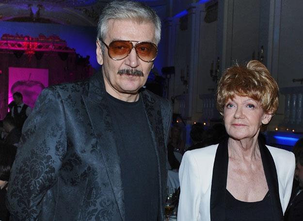 Maria Czubaszek i Wojciech Karolak /MWMedia