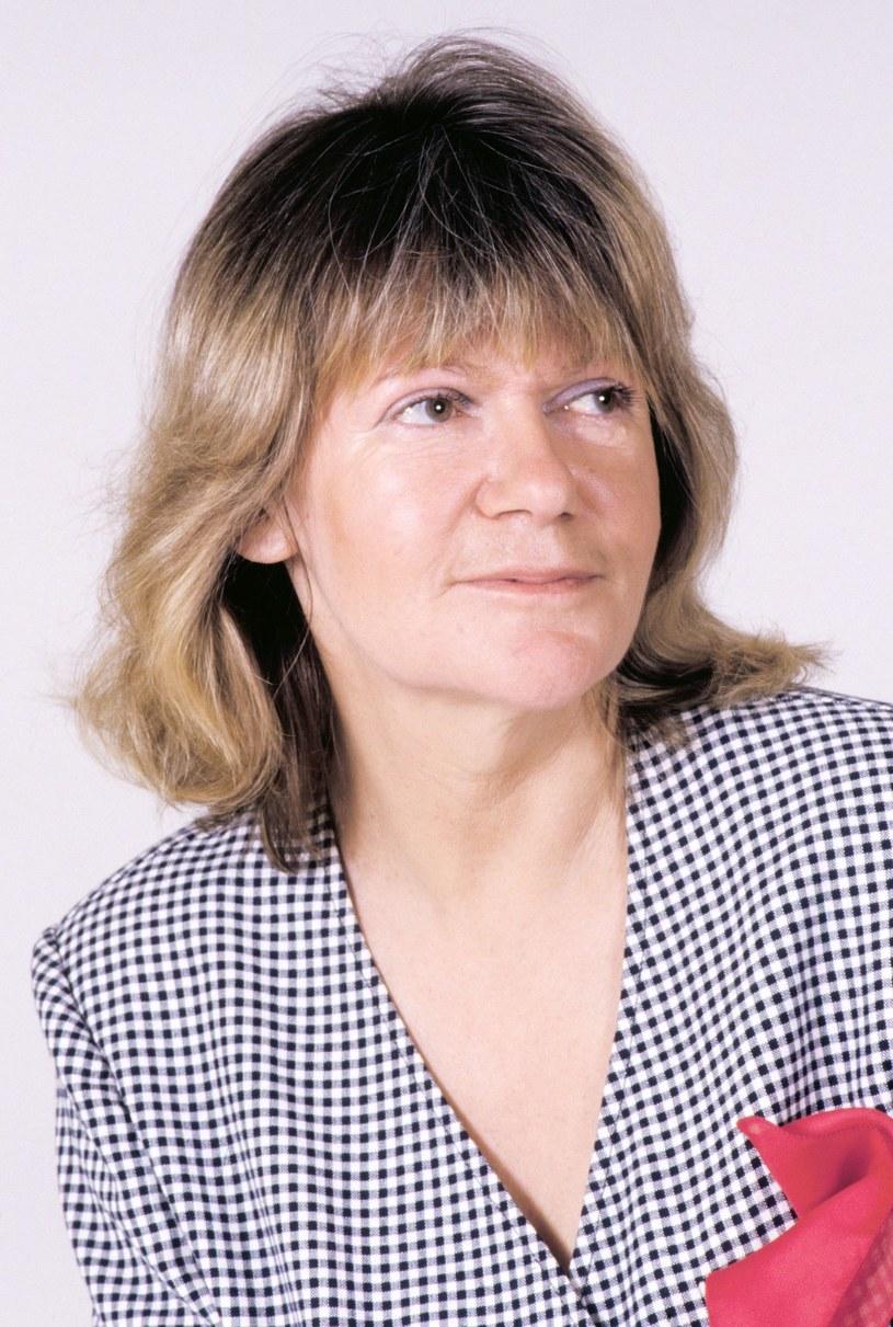 Maria Czubaszek w 1991 roku /Andrzej Wiernicki /East News