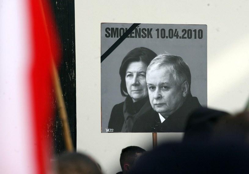 Maria i Lech Kaczyńscy, zdj. z obchodów II rocznicy smoleńskiej, zdj. ilustracyjne /Artur Barbarowski /East News