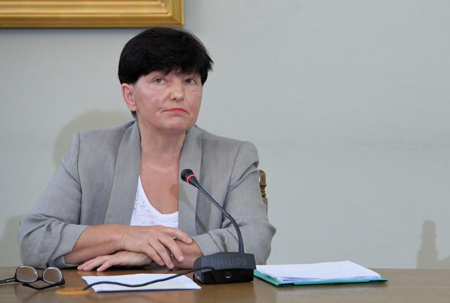 Maria Liszniańska uważa, że nie miała żadnego wpływu na zaniechania tego urzędu / PAP/Radek Pietruszka /PAP