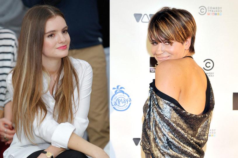 Maria Niklińska i Dorota Deląg dużo lepiej wyglądałby, gdyby na ich włosach nie odznaczały się jaśniejsze pasma /Jace Kurnikowski /AKPA