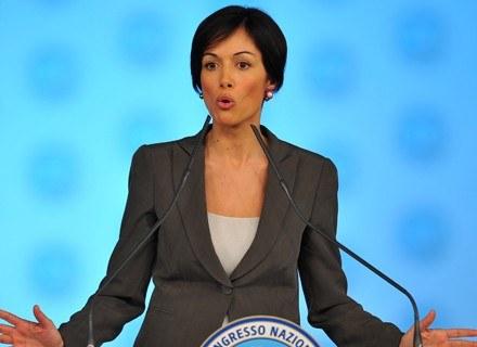 Maria Rosaria Carfagna /AFP