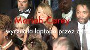 Mariah Carey wyrzuciła laptopa przez okno