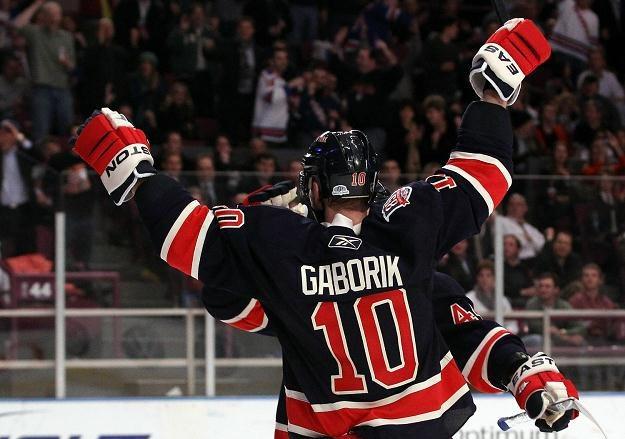 Marian Gaborik strzelił dwa gole w meczu z Islanders /AFP