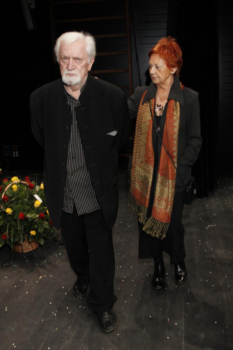 Marian Kociniak z żoną Grażyną /AKPA
