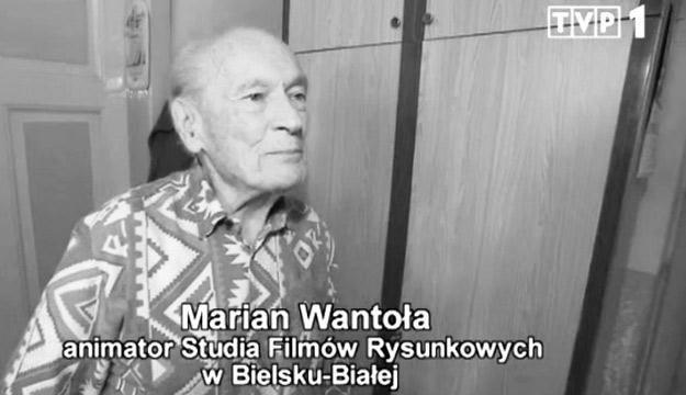 """Marian Wantoła w programie """"Sprawa dla reportera"""" /TVP1"""