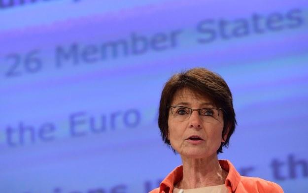 Marianne Thyssen, unijna komisarz ds. zatrudnienia /AFP