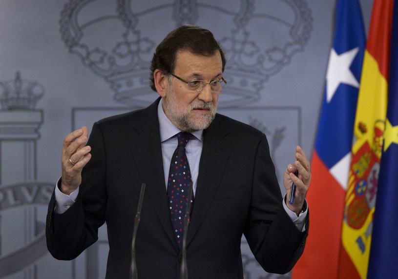 Mariano Rajoy - premier Hiszpanii /AFP