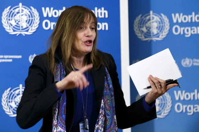 Marie-Paule Kieny z WHO /SALVATORE DI NOLFI /PAP/EPA