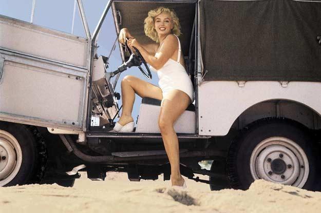 Marilyn Monroe kupowała nie tylko na ładne oczy... /