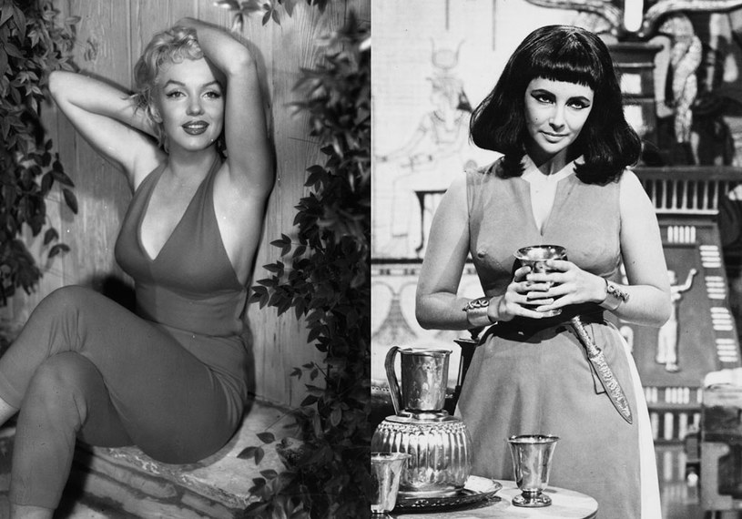 Marilyn Monroe vs Elizabeth Taylor /Baron / Keystone /Getty Images