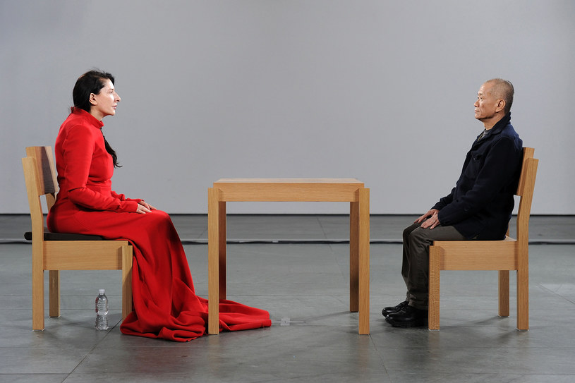 """""""Marina Abramovic: The Artist is Present"""", Nowy Jork, 2010 /Getty Images"""