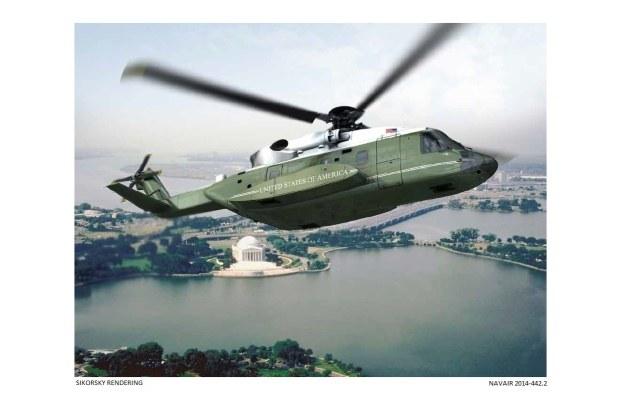 Marine One - wizualizacja firmy Sikorsky /materiały prasowe