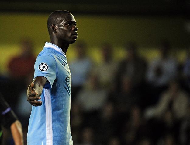 Mario Balotelli zapewnia najwięcej wrażeń kibicom City /AFP