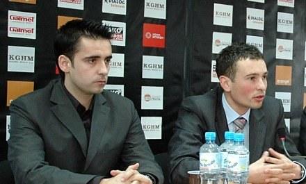 Mario Branco i Jakub Jarosz postarali się o wzmocnienia /Agencja Przegląd Sportowy
