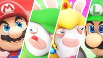 Mario + Rabbids Kingdom Battle - fragmenty rozgrywki z trybu kooperacji