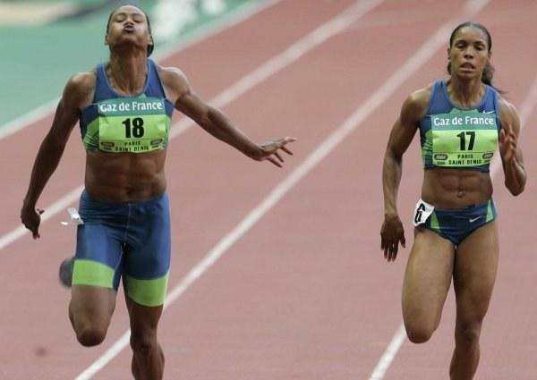 Marion Jones wygrała na 100 m /AFP