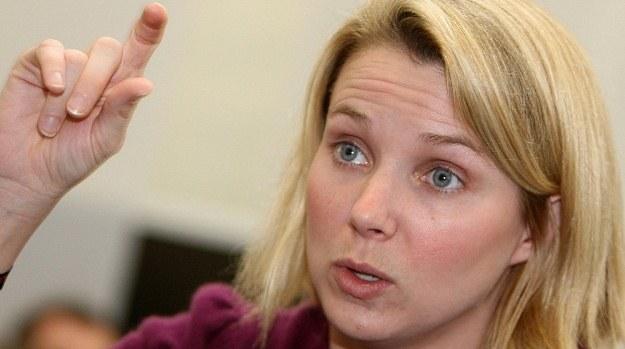 Marissa Mayer pokieruje portalem Yahoo! /AFP