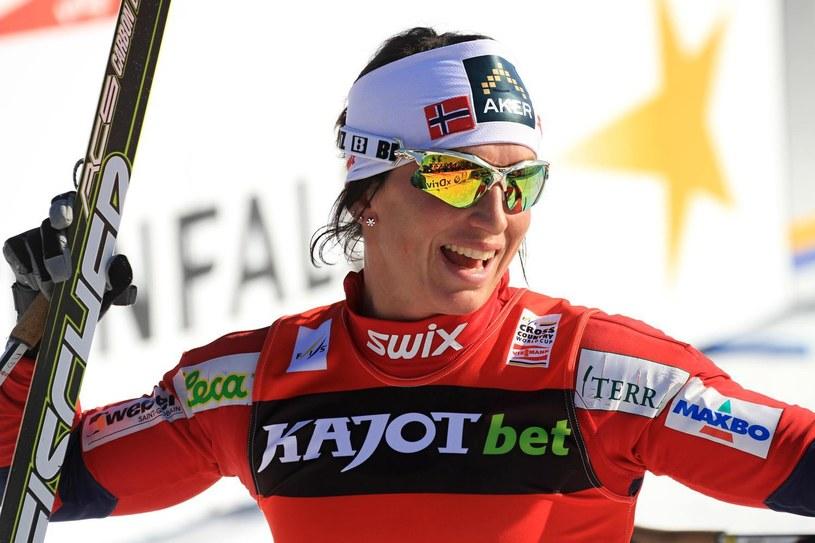 Marit Bjoergen, norweska biegaczka narciarska /AFP