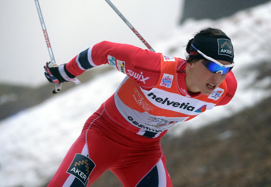 Marit Bjoergen /HENDRIK SCHMIDT/DPA /PAP