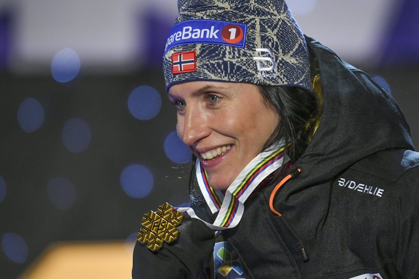 Marit Bjoergen /PAP/EPA