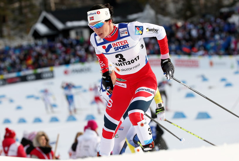 Marit Bjoergen /Grzegorz Momot /PAP