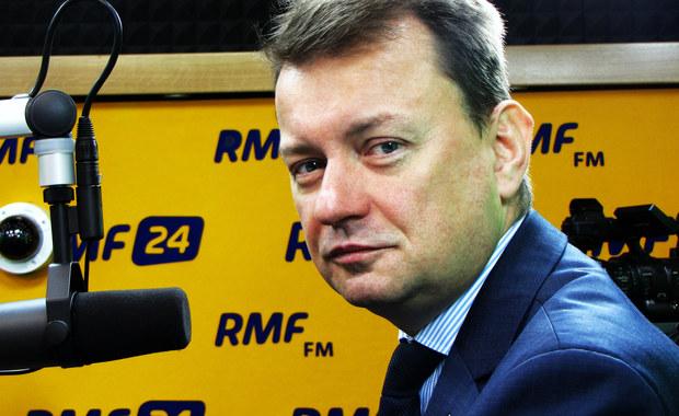 Mariusz Błaszczak: Demonstracja opozycji to porażka. Miał być milion - było 45 tysięcy