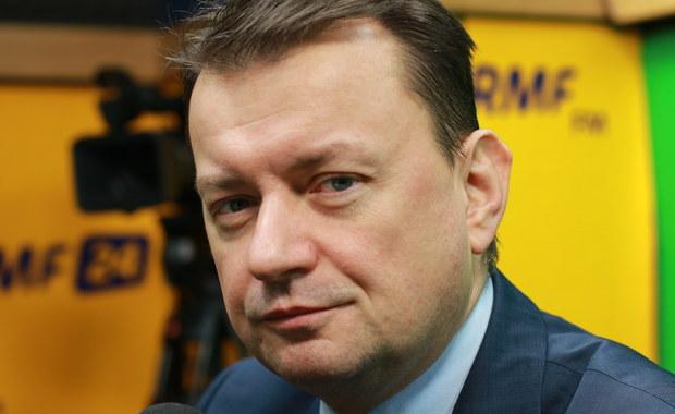 Mariusz Błaszczak: Jarosław Kaczyński ma obowiązek oceniania polityków PiS