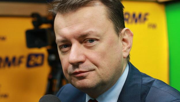 Mariusz Błaszczak: Nocne wydarzenia na Wiejskiej to była próba drugiej nocnej zmiany