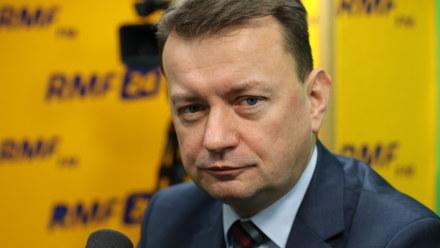 Mariusz Błaszczak: Policja zwróci większą uwagę na centra handlowe. Będzie więcej patroli