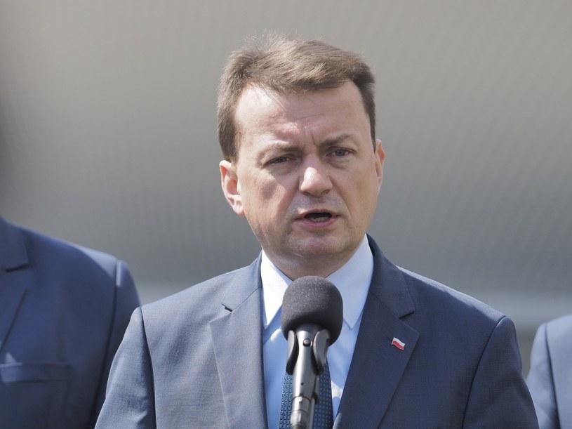 Mariusz Błaszczak, szef MSWiA /TOMASZ JODLOWSKI/REPORTER /Reporter