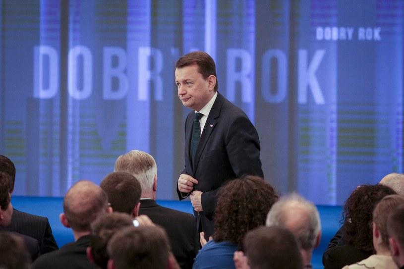 Mariusz Błaszczak /Andrzej Hulimka/Reporter /East News