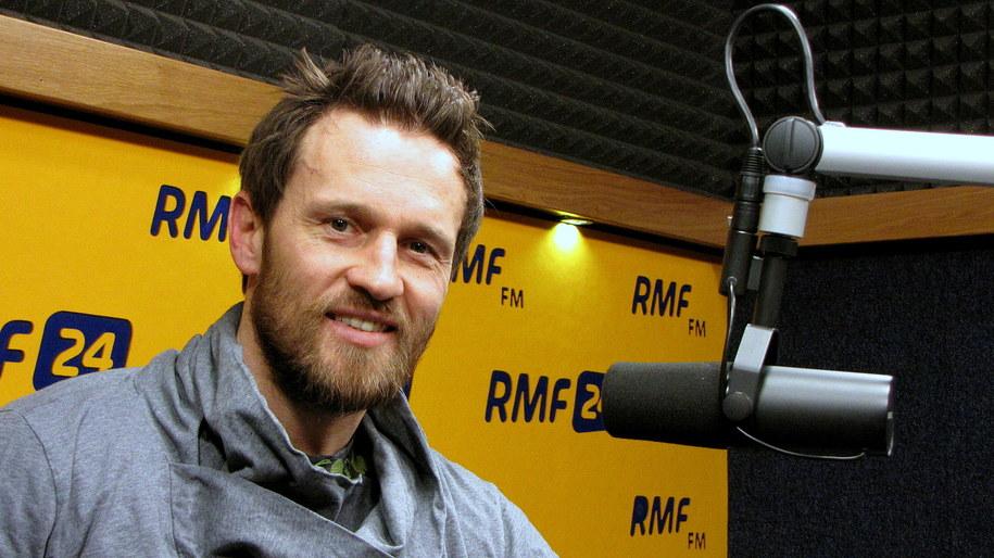 Mariusz Czerkawski /Kamil Młodawski /RMF FM