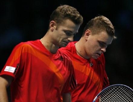Mariusz Fyrstenberg i Marcin Matkowski /AFP