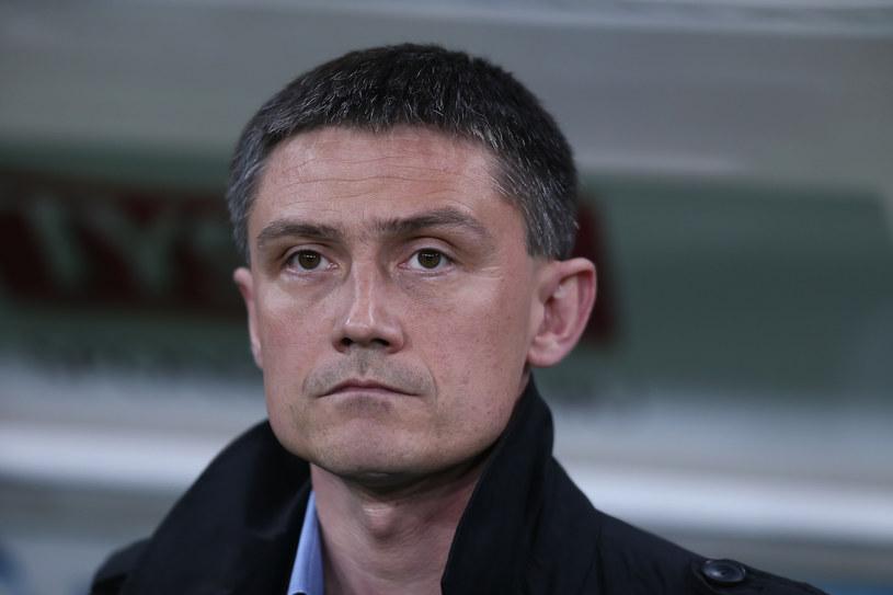 Mariusz Rumak, trener Bruk-Betu Termaliki Nieciecza /fot. Paweł Relikowski /East News