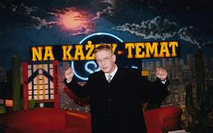 """Mariusz Szczygieł w programie """"Na każdy temat"""" /fot  /AKPA"""