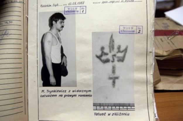 Mariusz Trynkiewicz - akta sprawy, rep. Marian Zubrzycki /Agencja FORUM