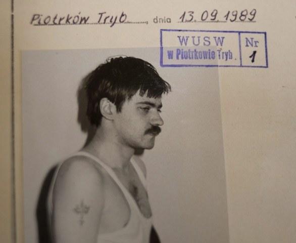 Mariusz Trynkiewicz, zdjęcie z akt sprawy /Grzegorz Michałowski /PAP